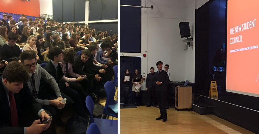 End of Term Assembly: Year 12