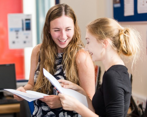 A Level Results 2018