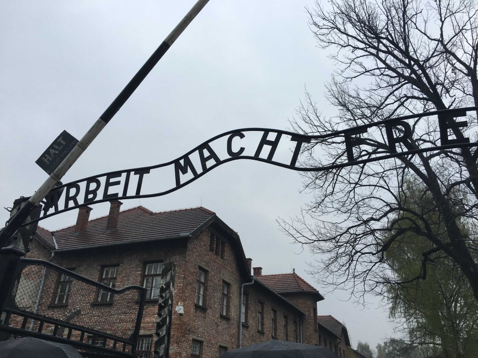 Lessons from Auschwitz-Birkenau, Monday 11 and Thursday 14 April