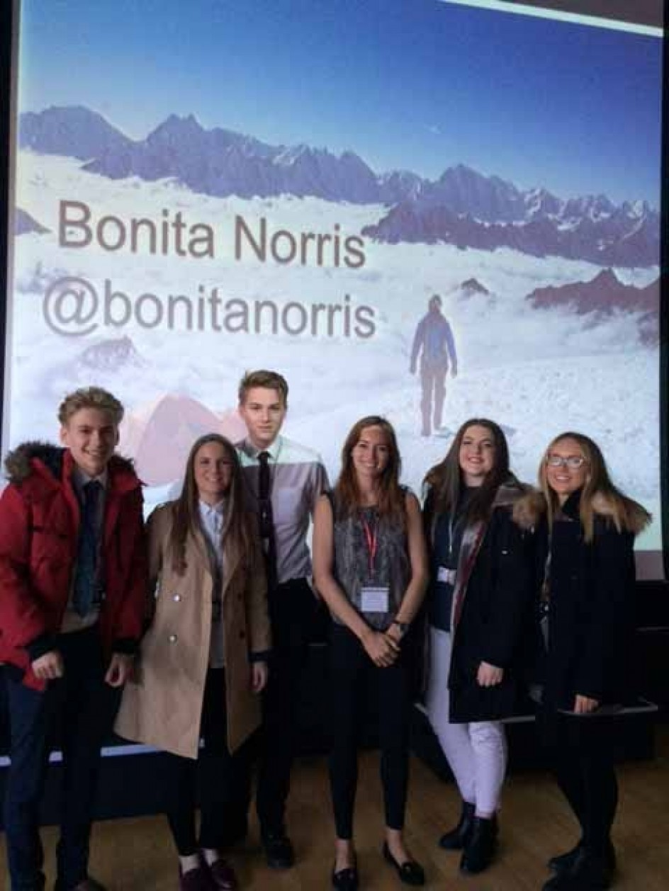 "Bonita Norris ""You have to start somewhere"" Thursday 28 January"