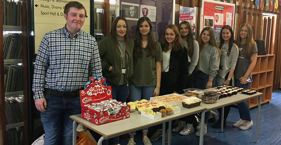 Comic Relief Cake Sale