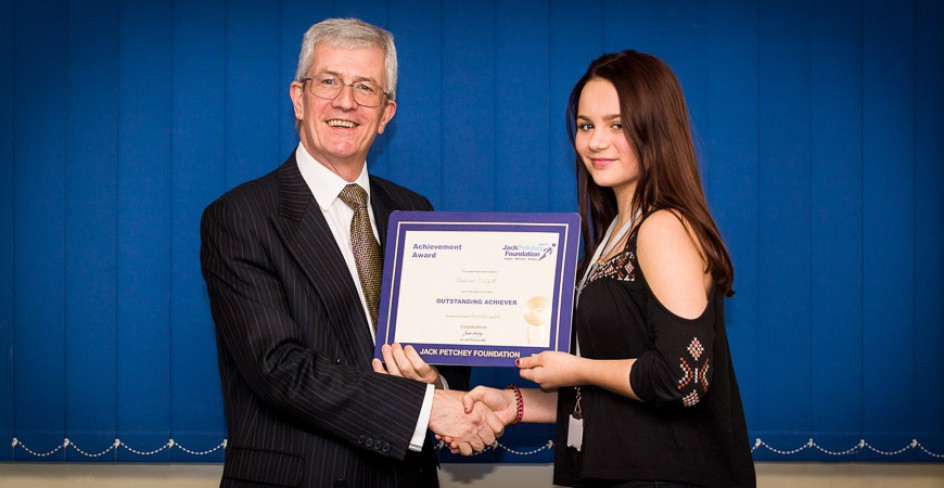 Madison Gilyatt  - Jack Petchey Winner Nov 2016