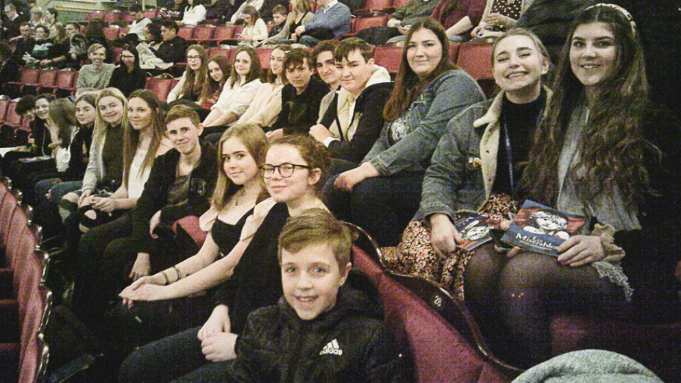 Sixth Form Musical Theatre Society Trip