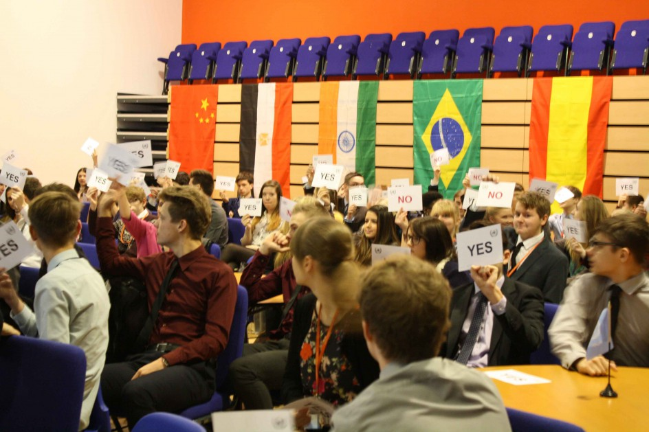 BSF Model United Nations, General Assembly Thursday 4 December 2014