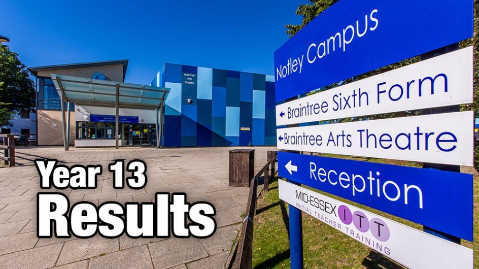 Year 13 Results Day, Thursday 13 August