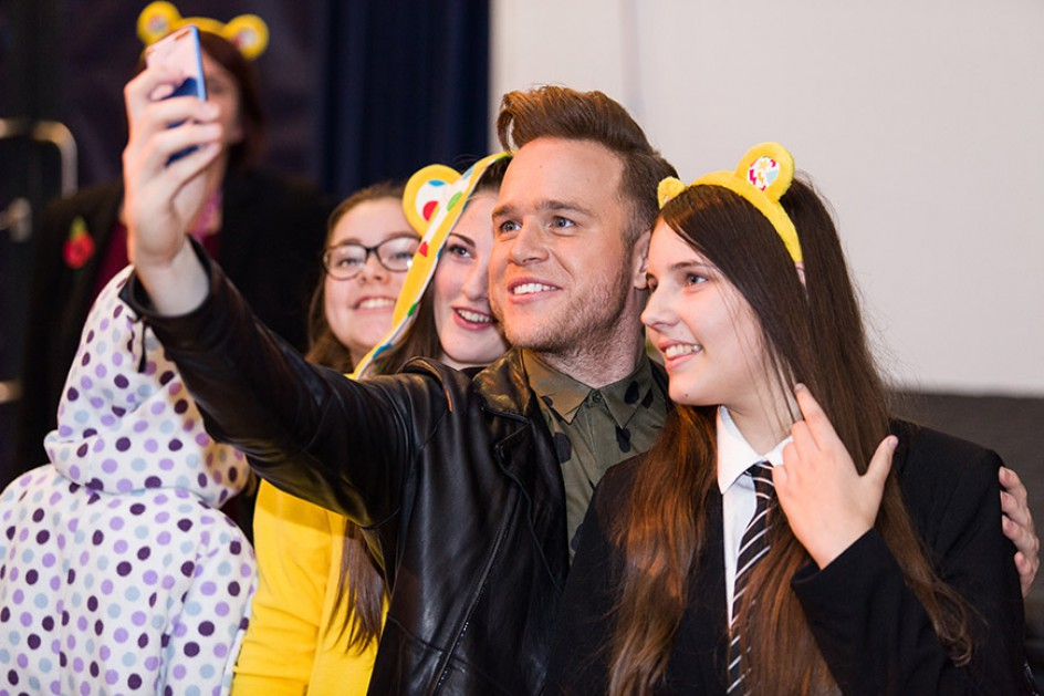 Olly Murs' Surprise Visit for Children in Need