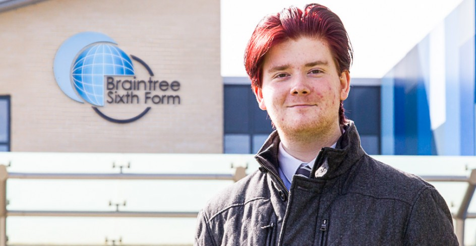 Braintree Sixth Form Student Wins Aberystwyth University Award