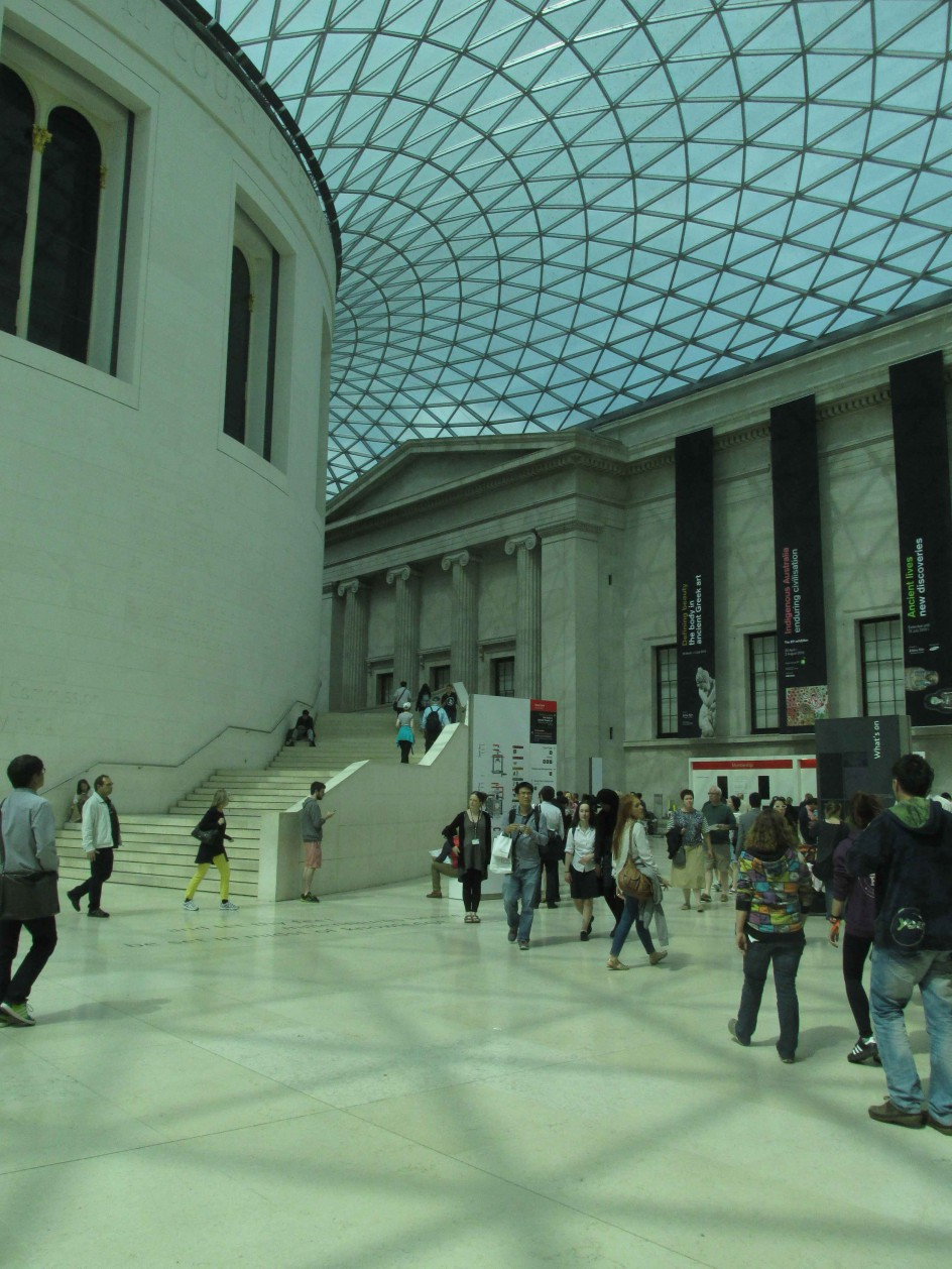 Visit to the British Museum, Friday 19 June